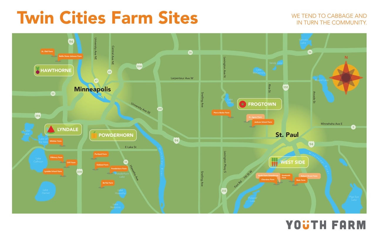 twin cities farm sites