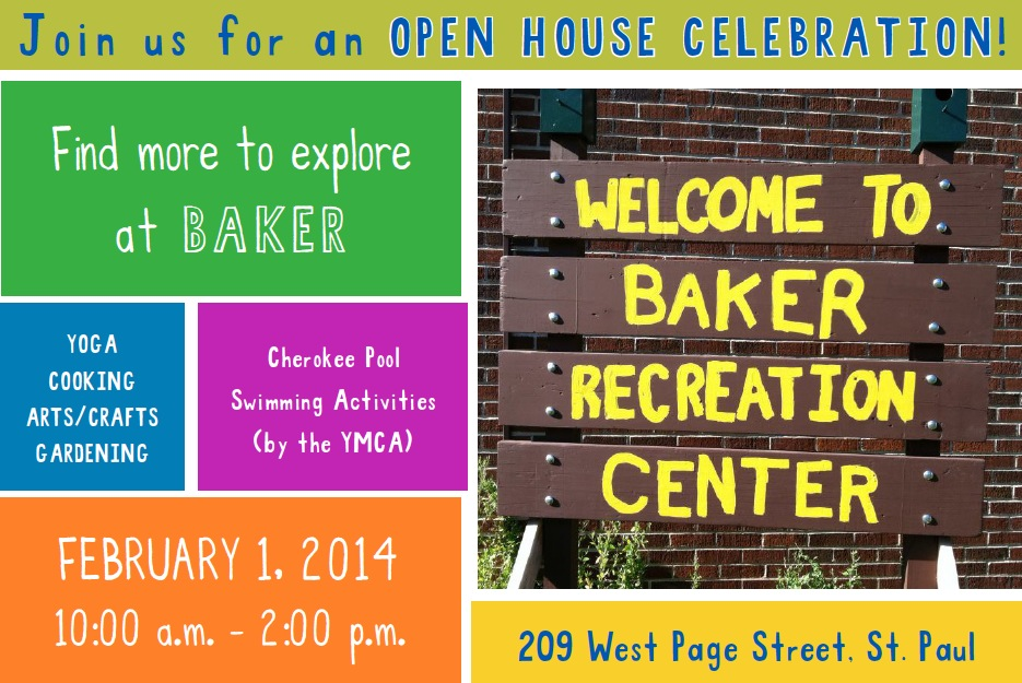 Baker Open House Invite
