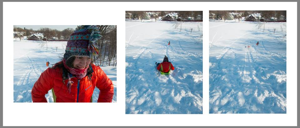 Ma'iingan Sledding Photo