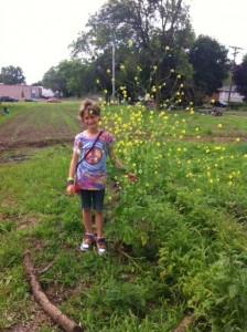 "Ellis wins the ""biggest weed"" contest."