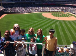 Youth Farmers at Target Field